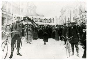 Wahlrechtsdemonstration der SDAP